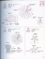 Crochet Applique - Starfish, Octopus and Tortoise