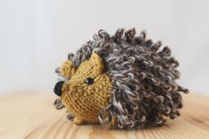 Knit Hedgehog :)