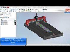 5 axis plasma cutting programming in SprutCAM for KEEL KSDF 6000 by COMAC company