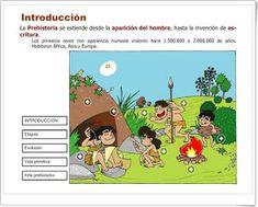 """Quince recursos para el estudio de  """"LA PREHISTORIA"""" en Educación Primaria"""