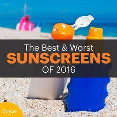 best sunscreens - dr. axe