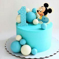 """Páči sa mi to: 69, komentáre: 1 – #No.1 Nigerian Cake Blog  (@cakebakeoffng) na Instagrame: """"So CUTE in Blue.... Mickey Mouse Cake Design via @katerinasamsonkina #Cakebakeoffng…"""""""