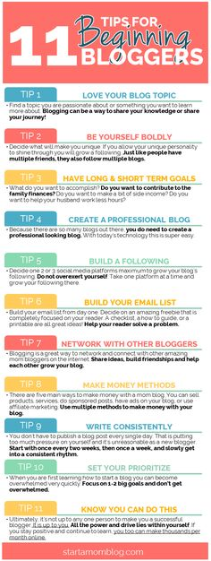 11 TIPS FOR BEGINNING BLOGGERS :)