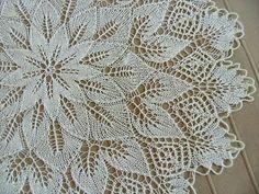 knitting by CozyHouseNatalie on Etsy Lace Knitting, Crochet Shawl, Knitting Patterns, Lace Doilies, Crochet Doilies, Lace Table, Crochet Tablecloth, Doily Patterns, Hand Quilting