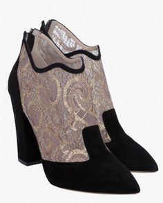 nicholas kirkwood lace booties