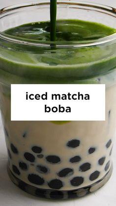 Tea Recipes, Coffee Recipes, Dessert Recipes, Cooking Recipes, Healthy Recipes, Boba Tea Recipe, Yummy Drinks, Yummy Food, Buzzfeed Tasty