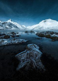 Moonlit Lofoten by Stian Klo on 500px