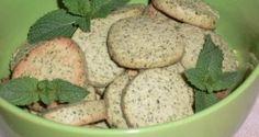 Печенье с мятой на твороге