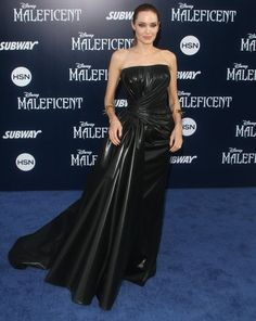Angelina Jolie Photos Photos - The 'Maleficent' world premiere is held at the El Capitan Theatre in Hollywood, California on May 28th, 2014. - Angelina Jolie Has Filed for Divorce From Husband Brad Pitt