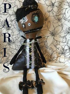 Monster dolls,gothic dolls,grunge dolls,primitive dolls, victorian doll,steam punk,Gothic,creepy dolls,Great Gift,Monster Doll,Plush,Friend, by DDSMASCOTMONSTERS on Etsy