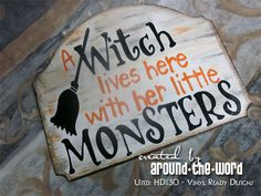 HALLOWEEN CRAFT SIGN - Project made using our downloadable digital designs. - Vinyl Ready Designs - http://www.vinylreadydesigns.com/category2.php?search=hd130=Search