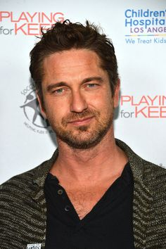 Gerard Butler...Came a long way from Paisley and overcame so much on the way. I admire his the journey and his acting.