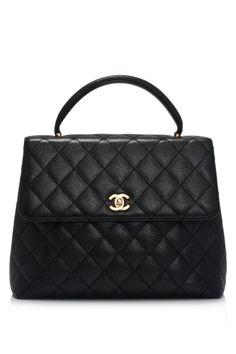 Classic Chanel ~ Jumbo Caviar Kelly Handbag, Black <> @kimludcom <> visit us at: www.kimlud.com