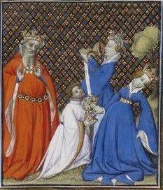 Giovanni Boccaccio, De Claris mulieribus; Paris Bibliothèque nationale de France MSS Français 598; French; 1403, 105r. http://www.europeanaregia.eu/en/manuscripts/paris-bibliotheque-nationale-france-mss-francais-598/en