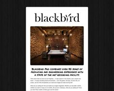Blackbird Pro combines over 80 years of producing and engineering experience with a state of the art recording facility.