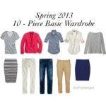 Spring 2013 Ten - Piece Basic Wardrobe