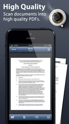 FREE app March 5th (reg 1.99) TinyScan can turns your iPhone/iPad into a mini scanner for documents, photos, receipts and other texts. With TinyScan, you can scan your documents at anywhere and store or email them as PDF files.