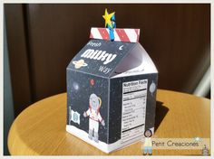 PRINTABLE MILK Carton Milky Way DIY digital di PetitCreaciones