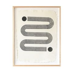 SIDEWINDER | FRAMED WOODBLOCK PRINT | Block Shop / Perfectly printed