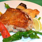 肉料理と季節野菜のグリル