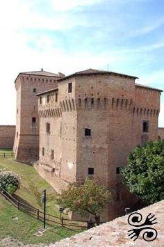 The Rocca Malatestiana castle in Cesena, Italy