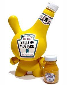 Nouveau design: les sauces Ketchup, Mayo et Moutarde de HEINZ en Kid Robot