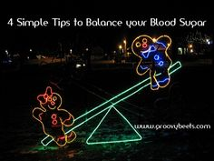 4 Simple Tips To Balance Your Blood Sugar #HealthTips [ GroovyBeets.com ]