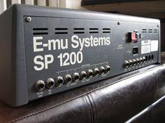 E-mu Systems SP 1200 sampling drum machine