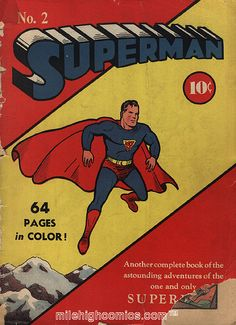 Superman Issue 2. From 1939.