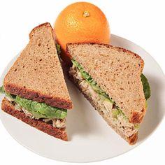 Balsamic Tuna Salad Sandwich - Fitnessmagazine.com