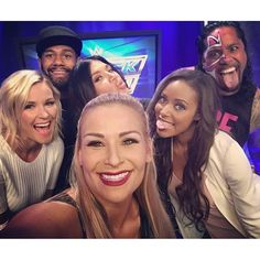Natalya, Renee Young, Rosa Mendes, Jimmy Uso,