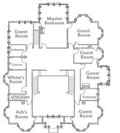 Excellent Floor Plans For The House In The Movie Clue Bing Images Largest Home Design Picture Inspirations Pitcheantrous