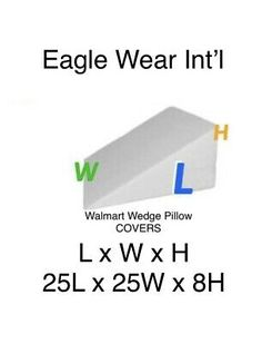 wedge pillow pillow covers