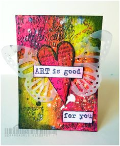 Zoey - Mixed Media & More: #ATCTuesday day 1