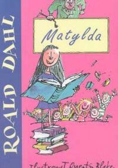 Okładka książki Matylda. Dla dzieci w wieku 8- 10 lat.