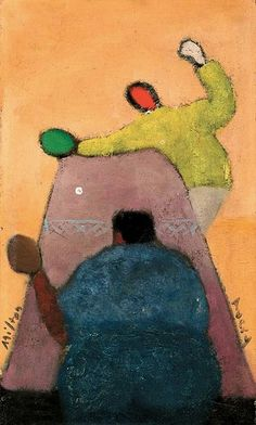 Milton Avery - Ping Pong Players (1942) (scheduled via http://www.tailwindapp.com?utm_source=pinterest&utm_medium=twpin&utm_content=post338107&utm_campaign=scheduler_attribution)