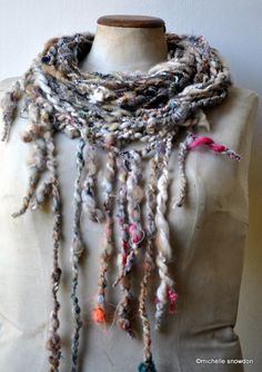 Inspiring ways with yarn and fibers.
