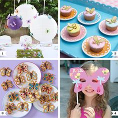 Here are a variety ofDIY butterfly party ideas, including food, decor, activities, and party favors! 1. Upgrade white paper lanterns with paper butterflies as seen on my blog. Get a tutorial on how to make butterfly lanterns at Martha Stewart. 2. Pretty and simple butterfly ...