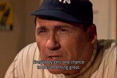 Art LaFleur as Babe Ruth in The Sandlot Sandlot Quotes, The Sandlot, Movie Quotes, Sandlot Benny, 90s Movies, Good Movies, Movie Tv, Softball Quotes, Softball Things