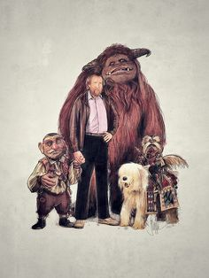 Labyrinth Characters with Jim Henson