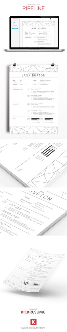 44 best CV design images on Pinterest Resume design, Creative - examples of successful resumes