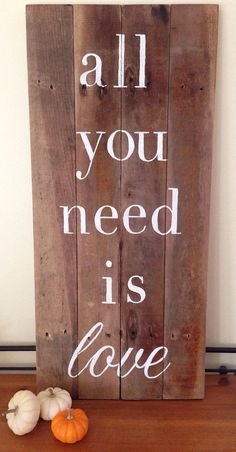 reclaimed wood signs - Google Search
