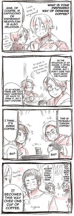 Preferred Coffees.
