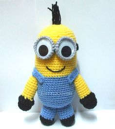 Larry the Minion 10.6 - Despicable Me Handmade