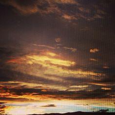 Helena montana sunset I've captured