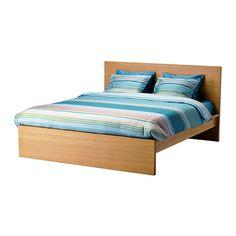 MALM Estrutura de cama - 140x200 cm, Luröy - IKEA