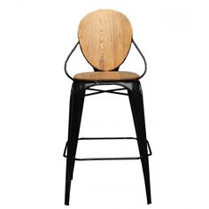 Louis Bar Stool Comfortable and versatile, this piece blends seamlessly into both classic and contemporary decors. White Bar Stools, Wooden Bar Stools, Low Stool, Stool Chair, Modern Farmhouse Design, Modern Farmhouse Kitchens, Affordable Modern Furniture, Commercial Furniture, Contemporary Decor