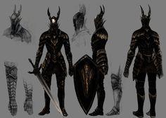 Black Knight by Hidetaka Miyazaki [ Dark Souls ]