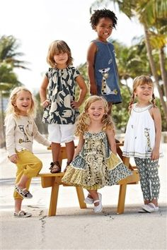 Buy Elephant Scene Crew Neck Sweater online today at Next Direct United States of America Summer Baby, Spring Summer, Latest Fashion For Women, Kids Fashion, Beach Kids, Tiered Dress, Mixing Prints, Flower Girl Dresses, Girly