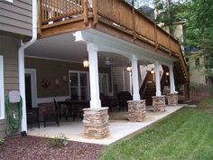 Pergola Ideas For Patio Product Patio Under Decks, Decks And Porches, Back Patio, Backyard Patio, Under Deck Ceiling, Diy Patio, Deck Ceiling Ideas, Under Deck Landscaping, Patio Deck Designs